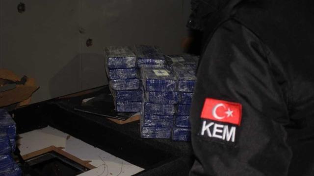Hollanda'dan Konya'ya kargo ile gönderilen koliden kokain çıktı