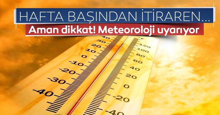 Hollanda'ya Türkiye sıcakları geliyor, 35 dereceyi görecek