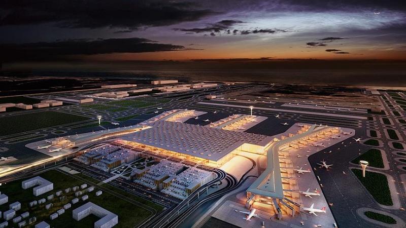 In 5 dagen 637 duizend passagiers op luchthaven Istanbul