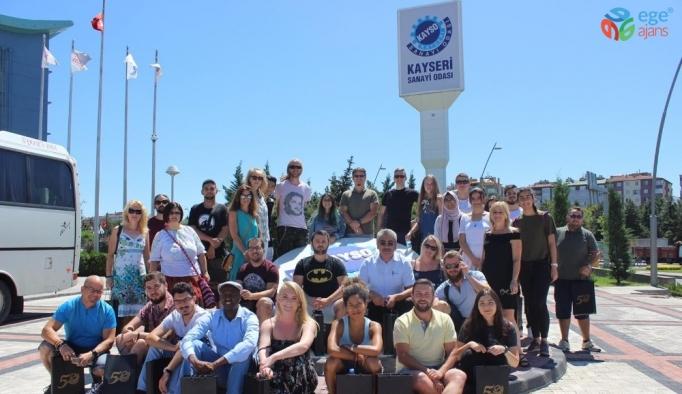 Kayseri'den 11 ülkeden 28 kişiye istihdam fırsatı eğitimi