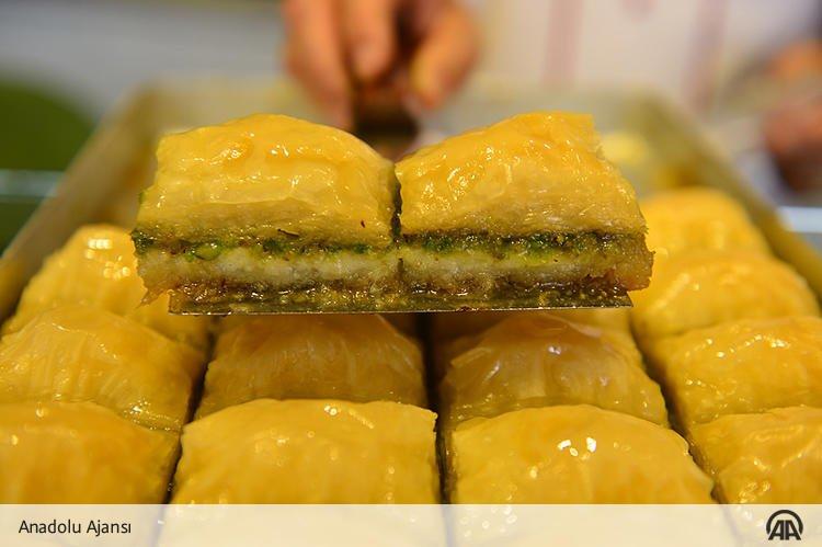 Osmanlı tatlılarının padişahı Baklava