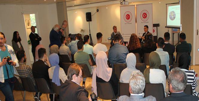 Rotterdam Başkonsolosumuz, başarılı girişimcileri gençlerle buluşturuyor