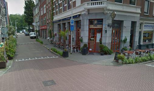 Rotterdam Dünya restoranda yangın çıktı