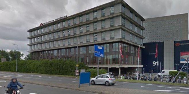 Rotterdam ekonomi fakülte binası yangın tehlikesinden dolayı kapatıldı