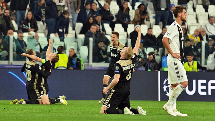Şampiyonlar Ligi'nde Ajax Tarih Yazdı,