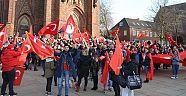 Almanya'da TSK'ya destek mitingi
