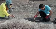 Domuztepe'de hayat ağacı motifli kaplar bulundu