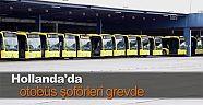 Hollanda'da otobüs şoförleri yeniden greve gidiyor