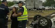 Hollanda'dan Türk aile Sırbistan'da kaza yaptı: 1 kişi hayatını kaybetti