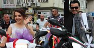 Hollanda'dan Türkiye'ye 8 Günde Motosiklet Üzerinde Gelerek Ordu'da Düğün Yaptılar
