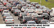 Türkiye'de trafiğe kayıtlı araç sayısı 22 milyona ulaştı