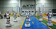 Yerli insansı robotlar oyun havası'na girdi