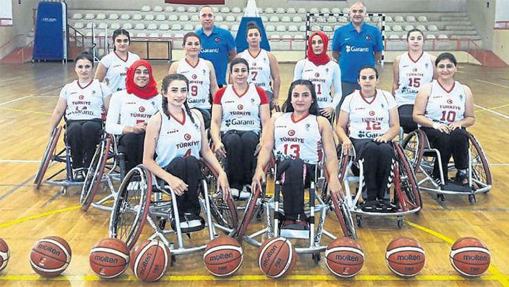 Tekerlekli Sandalye Basketbol Kadınlar Avrupa Şampiyonası başlıyor