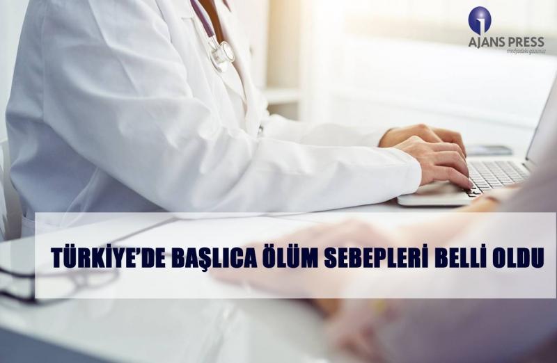 Türkiye'de Başlıca Ölüm Sebepleri Belli Oldu
