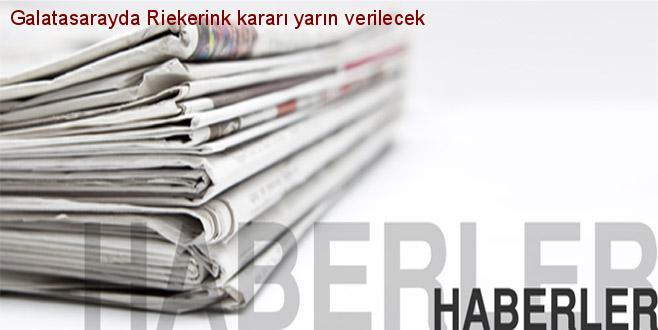 Vandaag beslissing over Riekerink bij Galatasaray