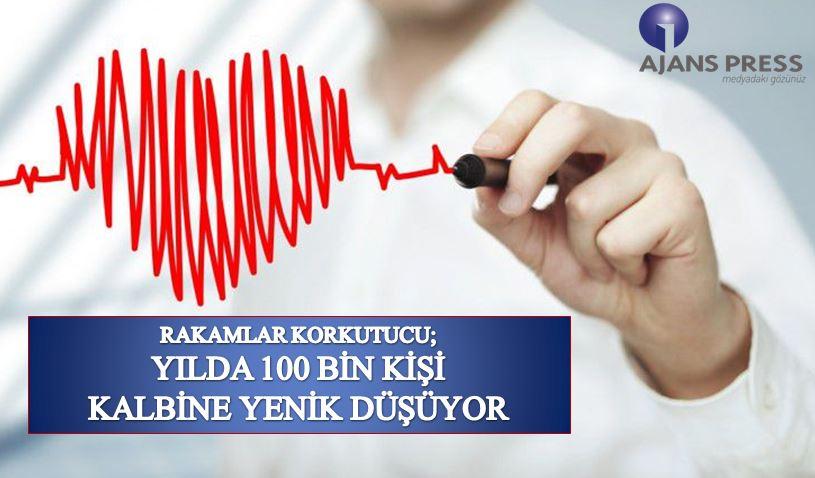 Yılda 100 Bin Kişi Kalbine Yenik Düşüyor