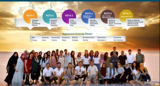 Yurt Dışındaki Genç Vatandaşlar Türkiye'yi Keşfediyor