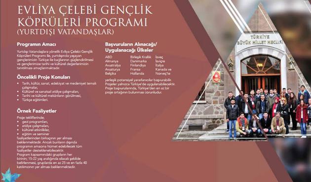Türk gençlerini Gençlik Köprüleri programına başvurmaya davet ediyorum